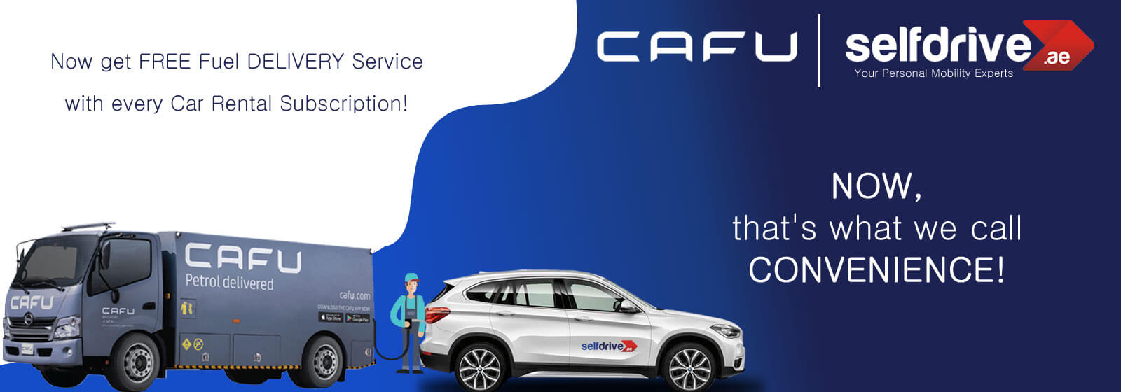 FREE Fuel DELIVERY from CAFU
