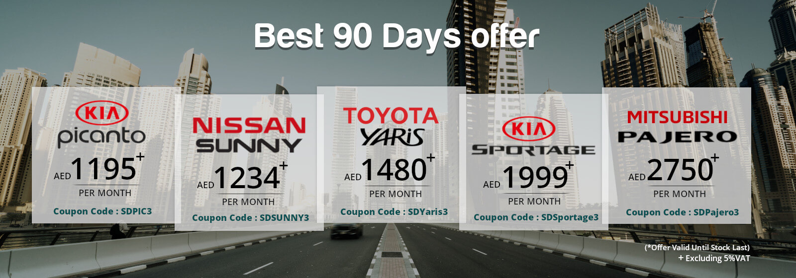 selfdrive.ae : Best 90 Days offer