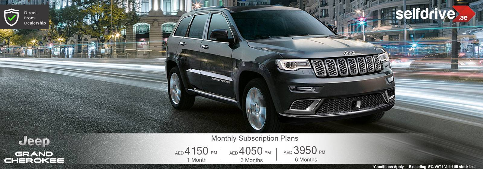 Rent a Car Dubai Jeep Grand Cherokee