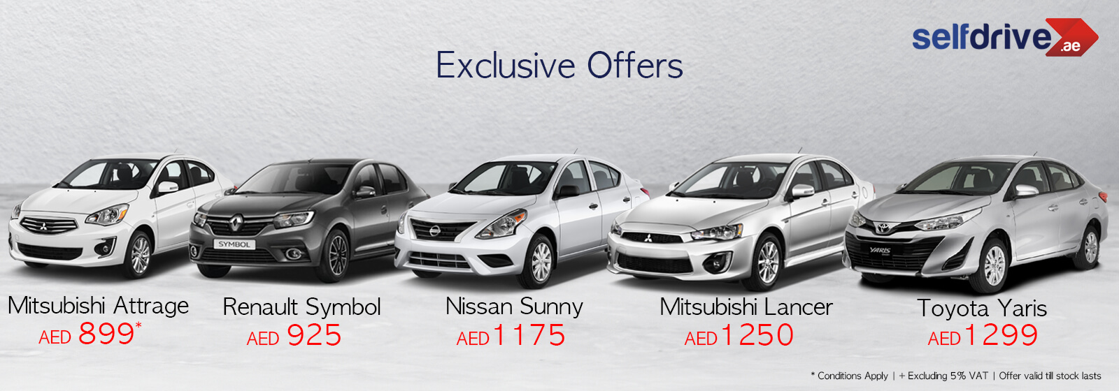 Exclusive offer for wide range of Sedan