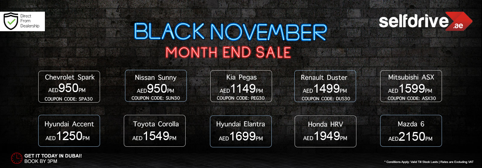 Black November Month End Sale