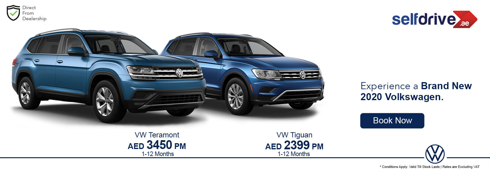 Volkswagen Exclusive Offers
