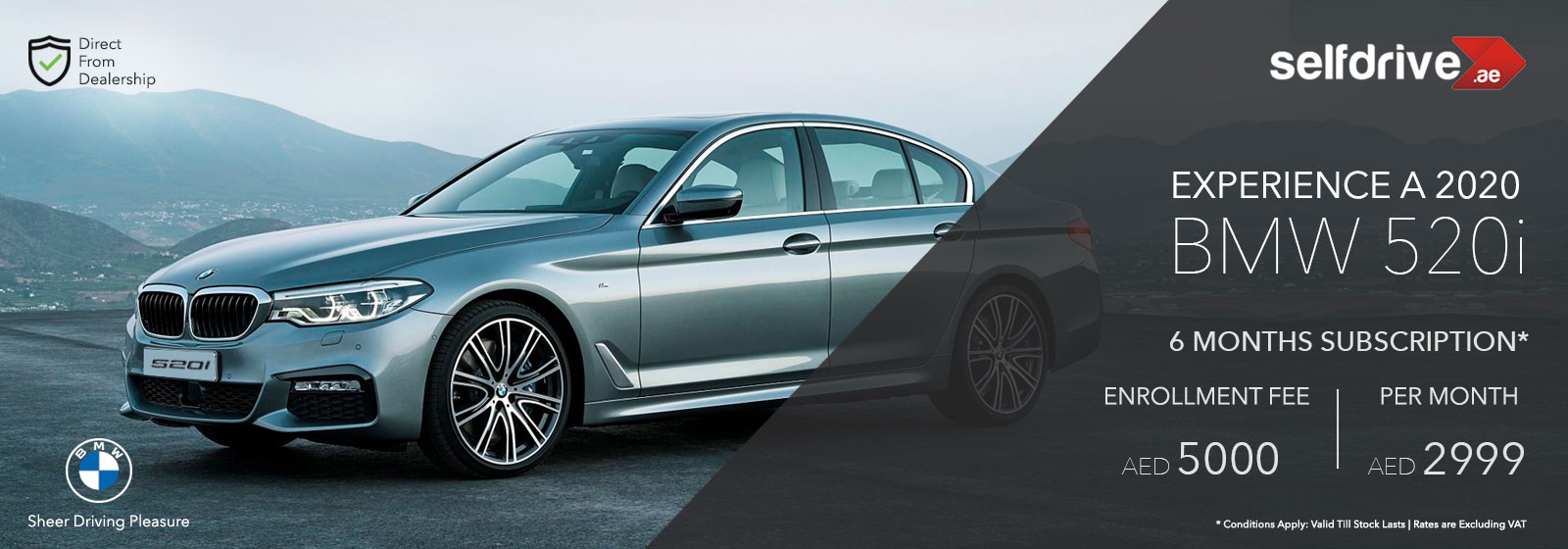 BMW 520i Subscription Offers